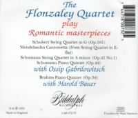 Flonzaley Quartet;  Ossip Gabrilowitsch   (2-Biddulph LAB 072/73)