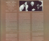 Georg Solti;  Barbara Hendricks - Final Alice  (David del Tredici)  (London LDR 71018)