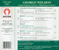 George Weldon   (Dutton CDCLP 4002)