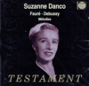 Suzanne Danco;  Guido Agosti   (Testament SBT 1289)