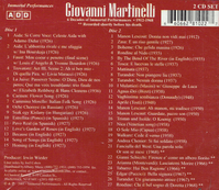 Giovanni Martinelli   (2-Immortal Performances 1002)