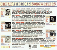 Great American Songwriters  (5-Laserlight 15 991)