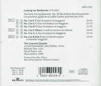 Guarneri Quartet  -  The Early Quartets, Op.18 (Beethoven)  (3-RCA Gold Seal Catalog 60456)