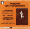 Hamilton Harty;  William Walton;  Frederick Riddle   (Dutton CDAX 8003)