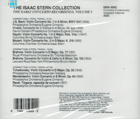 Isaac Stern Collection, Vol. I   (3-Sony SM3K 45952)