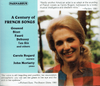 Carole Bogard;   John Moriarty  - A Century of French Songs   (2-Parnassus 96036/37)