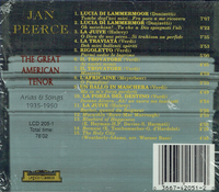 Jan Peerce - Arias & Songs    (Legato Classics LCD 205)