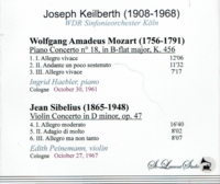 Joseph  Keilberth, Vol. V;  Haebler;  Peinemann   (St Laurent Studio YSL T-501)
