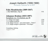 Joseph Keilberth, Vol. VI     (St Laurent Studio YSL T-503)