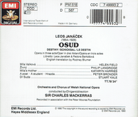 Osud  (Janacek)  (Mackerras;  Helen Field, Philip Langridge, Kathryn Harries)  (EMI 7499932)