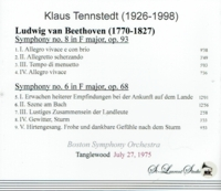Klaus Tennstedt, Vol. X - Beethoven    (St Laurent Studio YSL T-730)