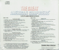 Leonard Bernstein - The Great American Composers  (2-Columbia Music Collection C21 & C22 8061)