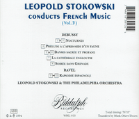 Leopold Stokowski - Music from France  (Biddulph WHL 013)