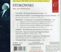Leopold Stokowski - The Classic 1947-1949 Columbia Recordings  (Cala 0533)