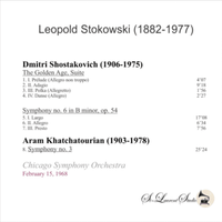 Leopold Stokowski, Vol. XII - Chicago  - Shostakovitch & Khatchaturian  (St Laurent Studio YSL T-992)