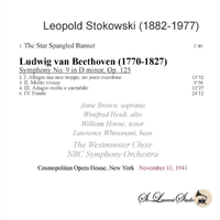 Leopold Stokowski, Vol. XIV - NBC S. O.;   Anne Brown, Winifred Heidt, William Horne & Lawrence Whisonant  (St Laurent Studio YSL T-1041)