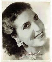 Licia Albanese (Signed Photo)