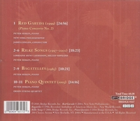 Lorraine Hunt Lieberson - Rilke Songs  (Lieberson);   Peter Serkin;  James Conlon           (Bridge 9317)