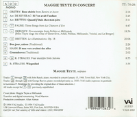 Maggie Teyte - The 1948 Town Hall Recital  (VAIA 1063)