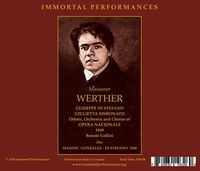 Manon / Werther  (Cellini;  di Stefano, Gonzalez, Simionato, Valdengo)  (3-Immortal Performances IPCD 1098)