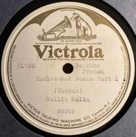 Nellie Melba (Victrola Special Order 88369 and 88370)