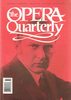 Opera Quarterly, Vol. 12, #3 – Spring, 1996