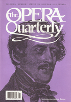 Opera Quarterly, Vol. 14, #3 – Spring, 1998