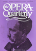 Opera Quarterly, Vol. 15, #3 – Summer, 1999