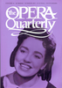 Opera Quarterly, Vol. 16, #3 � Summer, 2000