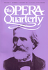 Opera Quarterly, Vol. 17, #4 � Autumn, 2001