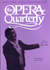 Opera Quarterly, Vol. 18, #3 – Summer, 2002.  pp309-466