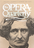 Opera Quarterly, Vol. 2, #2 � Summer, 1984