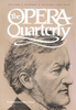 Opera Quarterly, Vol. 1, #3, Autumn, 1983 - Commemorative Issue