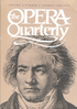 Opera Quarterly, Vol. 4, #2 – Summer, 1986