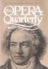 Opera Quarterly, Vol. 4, #2 � Summer, 1986