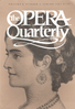 Opera Quarterly, Vol. 5, #1