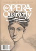 Opera Quarterly, Vol. 5, #4 – Winter, 1987