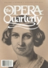 Opera Quarterly, Vol. 6, #1