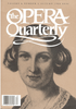 Opera Quarterly, Vol. 6, #1 – Autumn, 1988