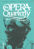 Opera Quarterly, Vol. 9, #1 – Autumn, 1992