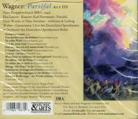 Parsifal - Act III - Knappertsbusch   (Music & Arts 1067)