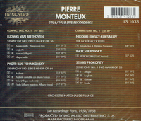 Pierre Monteux    (2-Living Stage 1033)