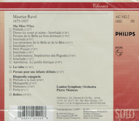 Pierre Monteux - London S.O.  -  Ravel   (Philips 442 542)