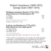 Robert Casadesus, Vol. III;  George Szell  (St Laurent Studio YSL T-1034)