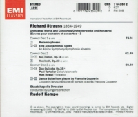 Rudolf Kempe - Richard Strauss, Vol. III    (3-EMI 64350)