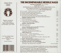 Heddle Nash;  Beecham, Perli, Brownlee & Robert Easton  (Dutton CDLX 7012)