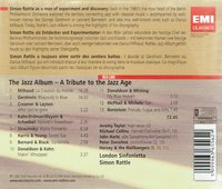 Simon Rattle;  Michael Collins (Clarinet) & Peter Donohoe (Piano) - A Tribute to the Jazz Age   (EMI 36556)