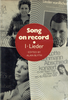Song on Record -  Lieder, Vol. I  - Alan Blyth   (9780521268448)