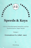 Speeds & Keys   (Chris Zwarg)   (Truesound Transfers)