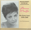 Anna Moffo - The Early Years   (Biographies in Music 714)